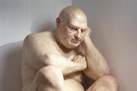 Ron Mueck, Big Man (1998)